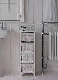 unique bathroom cabinet with baskets brown cabinet bathroom hallway wooden storage unit cupboard