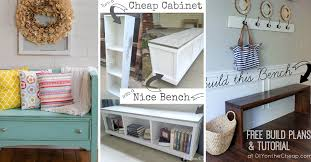 the best 30 diy entryway bench projects cute diy projects entryway bench ideas