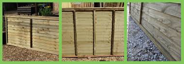 which are the est overlap fencing panels