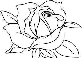 rose coloring pages printable cool hearts and roses r roses color pages pictures of hearts and to free