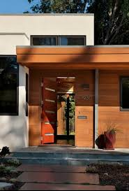 mid century modern front porch. Mid Century Modern Exterior. Love The House Numbers And Lights Front Porch 2