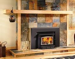 image of wood burning fireplace inserts