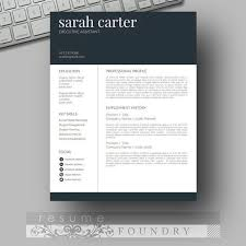 Eye Catching Resume 19 Look Professional With An Easy To Use Template  Instant Download Open In