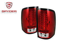 Advance Auto Parts Brake Light Bulb Spyder Gmc Sierra 07 13 Not Fit 3500 Dually 4 Rear Wheels Led Tail Lights Red Clear