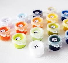 Набор масляных красок по номерам