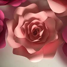 2019 Giant Paper Flowers For Wedding Backdrops Decorations Kids Room Deco Showcase Windows Display Deco Mix Pink And Rose Color From
