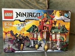LEGO Ninjago 70728 Battle for Ninjago City - Retired - New in Sealed Box