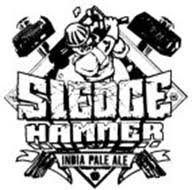 sledge hammer logo. sledge hammer india pale ale sledge hammer logo