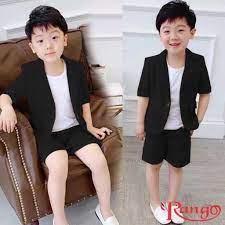 Bộ vest đùi bé trai 3 món y hình cho bé đi chơi đi tiệc diện mùa xuân giá  cạnh tranh