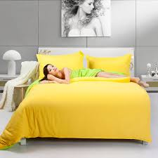 fashion nice bedding two tone yellow and fruit green duvet cover bedding set 4pcs bed sheet duvet cover pillowcases in bedding sets from home garden on