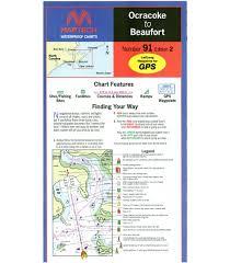 Maptech Ocracoke To Beaufort Nc Waterproof Chart