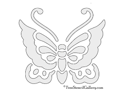 Butterfly Patterns Printable Custom Design Ideas