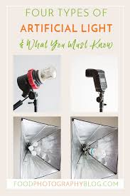 Portrait Lighting Chart Four Types Of Artificial Light For Photography And What You