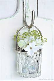 hanging glass wall vase petticoat