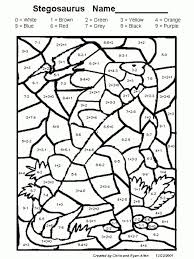 Free Printable Math Coloring Worksheets For 3rd Grade - Color of ...