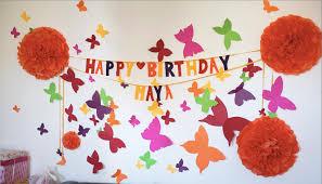 birthday decoration ideas homemade image inspiration of cake and