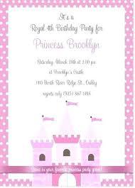 Birthday Invitation Templates Free Download Princess Birthday Party Invitation Template Free Printable Cards