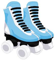 Image result for roller skating clipart