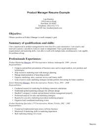 Product Management Resume Ideas Of Sample Product Manager Resume With Additional Summary 13