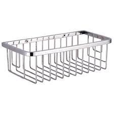 kes bathroom shower caddy rustproof rectangular bath storage basket sus 304 stainless steel contemporary style wall