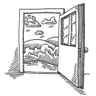 stock ilration 40170102 open door freedom concept drawing jpg 190 190 pixels