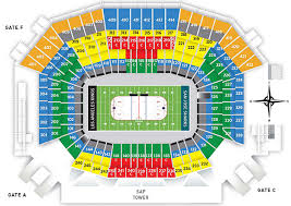 Stadium Series 2019 Seating Chart 80 Circumstantial Sun Life Stadium Sections
