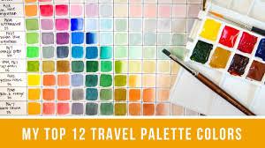 Top <b>12</b> Perfect Travel <b>Palette Colors</b> / Top <b>12 Color</b> ...