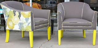 yellow club chair tags tags mid century modern yellow u0026 grey club chairs iwtavvh