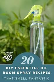 20 diy essential oil room spray recipes