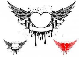 Tetování Andělíček Stock Vektory Royalty Free Tetování Andělíček