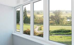 double glazed window in country home