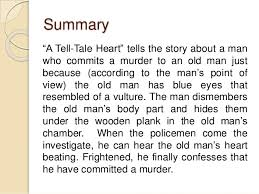 intrinsic elements analysis setting in a tell tale heart by edgar 5 summary ldquoa tell tale heartrdquo