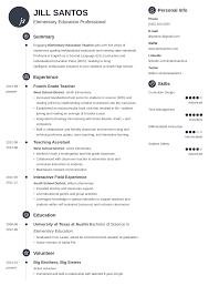 The teacher resume template helps those on a job search develop a document which fulfills the goal of any resume: Teacher Resume Examples 2021 Templates Skills Tips
