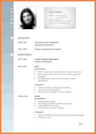 13 Curriculum Vitae Format For Job Application Teacher Bussines