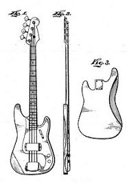 fender precision bass design alterations and variants edit a patent sketch for the fender precision bass