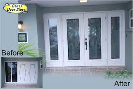 glass double front door. All Glass Front Doors Etched Tropical Designs On Entry Cool Double Door O