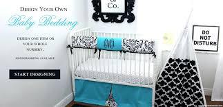 design your own baby bedding nava design baby bedding