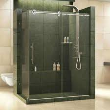 dreamline shower enclosure enigma in x 1 2 in x in dreamline frameless sliding shower door