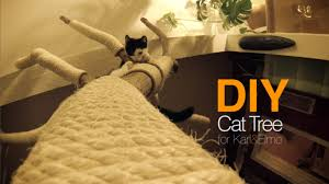 diy cat tree plans your secret weapon and drone