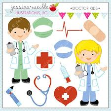 doctor clipart for kids. Interesting Doctor Doctor Kids Cute Digital Clipart For Commercial By JWIllustrations 500 On For L
