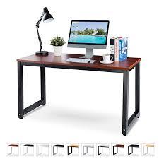 computer desk mats neat fice puter desk 55 teak laminated wooden