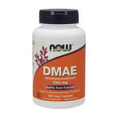 <b>DMAE 250mg - 100</b> veg caps - Now Foods