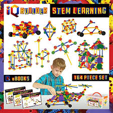 IQ BUILDER | STEM Learning Toys Creative Construction Engineering Fun Educational Building Toy Set 3 Year Old Boys Toys: Amazon.com
