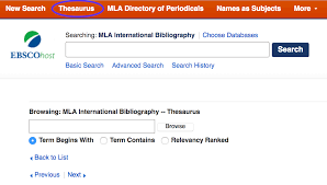 Mla International Bibliography Guide To Literatures And Languages