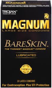 Thinnest Large Size Condom Magnum Bareskin Condoms