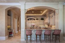 arch design for living room. interior room arches decoration ideas. kitchen with the zoning, and nice upholstered chairs arch design for living