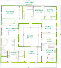 Center courtyard house plans with 2831 square feet this is one of my bigger houses