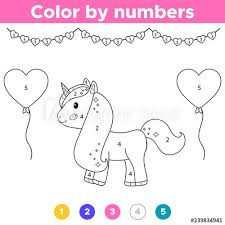 Play like a pro and get full control of your game with keyboard and mouse. Unicorn Color By Number For Kids