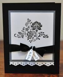 Black And White Greeting Card 192 Best Cards With Elegance Images Die Cutting Handmade Cards