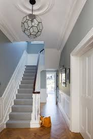 Victorian Hallway Uk Home Design Ideas, Renovations & Photos-really like  the staircase